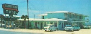 Barney Gray Motel Postcard