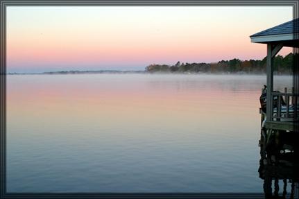 dawn at murvaul framed